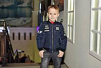 Короткая куртка  бомбер весна-осень  для мальчиков  на рост 110-116, фото 1