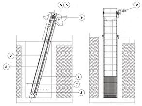 Каналізаційна решітка механічна автоматизована (Франклін Міллєр), фото 2