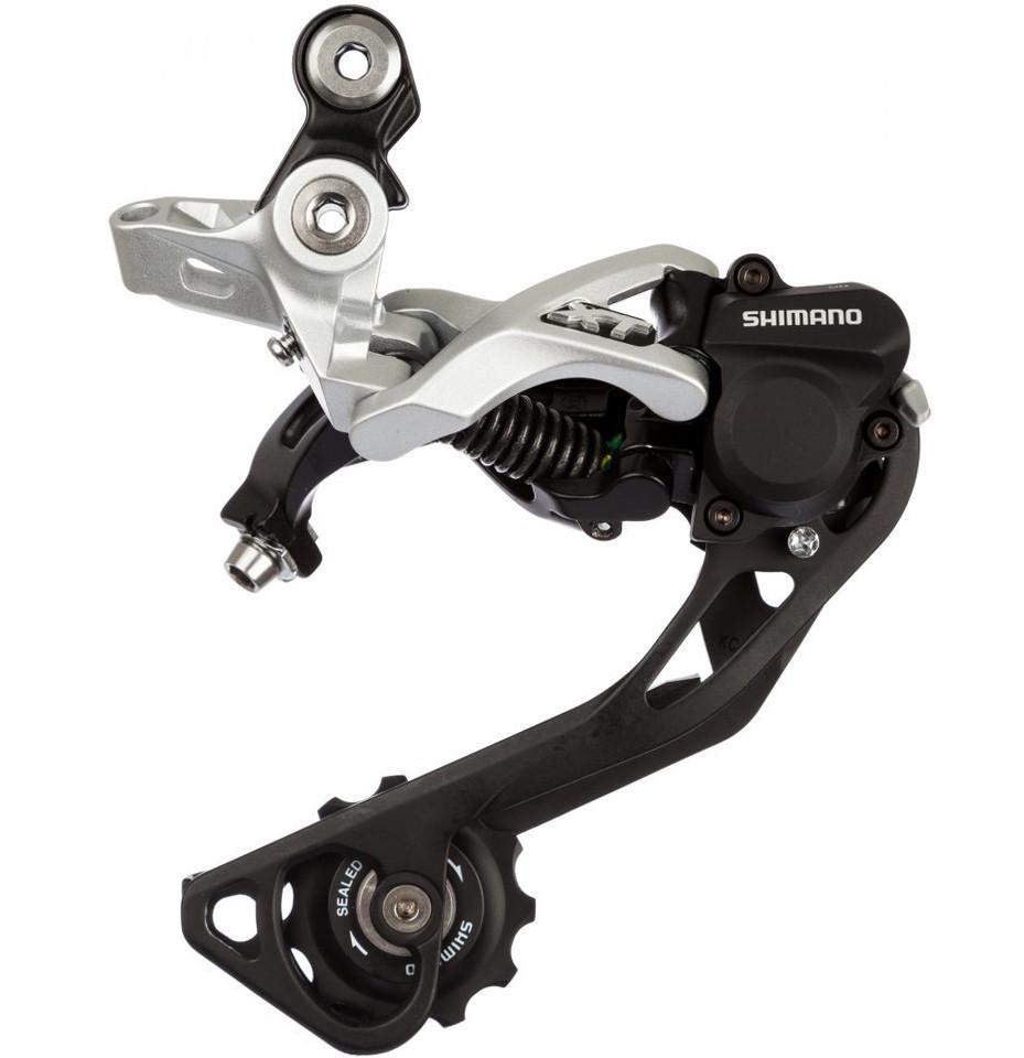 Задний переключатель скоростей Shimano XT RD-M786 SGS Shadow+, серебристый