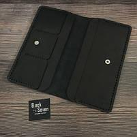Мужское портмоне ручной работы от BlackSeven, фото 4