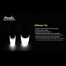 Диффузионный фильтр белый для Fenix PD31/PD32, фото 3