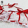 Кружевной комплектик с подвязками, фото 3