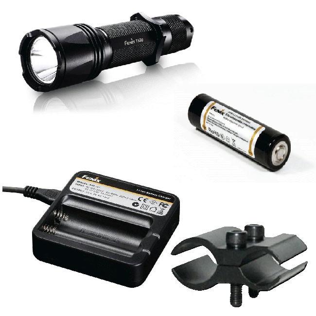 Фирменный набор Fenix TK09 G2 + AR102 + ак Fenix 2600 + зарядка ARE-C1 + крепление F3456