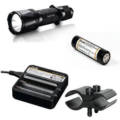 Фирменный набор Fenix TK09 G2 + AR102 + ак Fenix 2600 + зарядка ARE-C1 + крепление F3456, фото 2