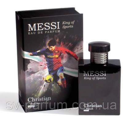 Туалетная вода мужская Christian Messi King Of Sports 100ml