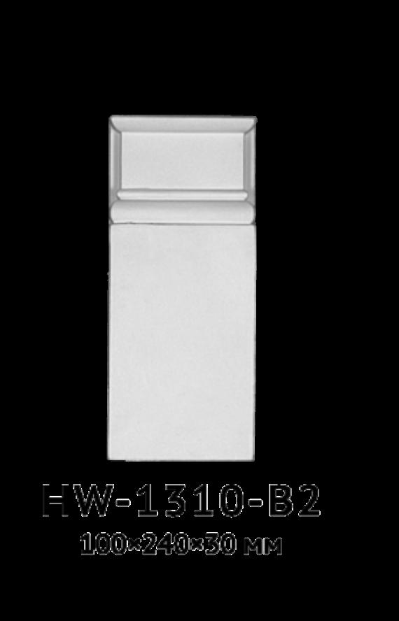 База Classic Home HW-1310-B2, ліпний декор з поліуретану