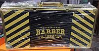 Профессиональный кейс-чемодан для барбера-парикмахера, металлическая сумка-дипломат, Цвет Золото, фото 1