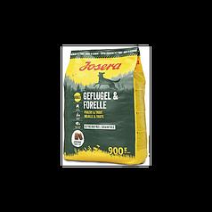 Сухий корм Josera Geflugel & Forelle (для дорослих собак, домашня птиця+форель)