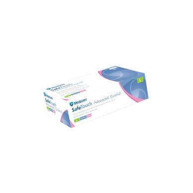 Перчатки Medicom нитриловые  Extend (L) розовые