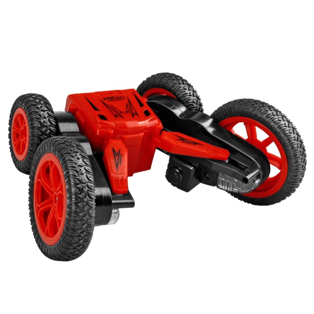 Автомобиль трансформер, трюковой на радиоуправлении  JJRC Q71 Stunt Car красный (JJRC-Q71R)