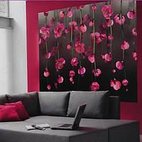 Фотообои, розовый, цветы, орхидея, малиновый, ПРЕСТИЖ №19 размер 204смХ196см