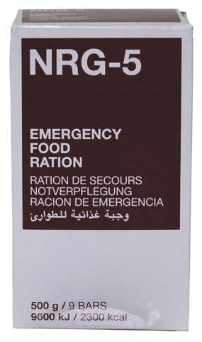 Экстренный пищевой рацион NRG-5, 500 г