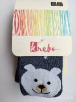 Колготи дитячі Krebo Польща 1007 Для хлопчиків медведик
