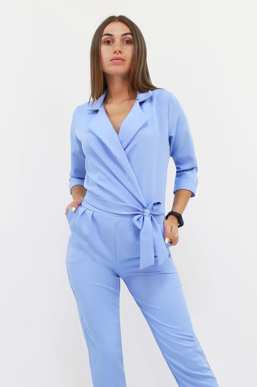 S, M, L | Стильний жіночий комбінезон Noris, блакитний