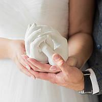 Набір для створення 3D зліпка рук Руки закоханих оригінальний подарунок прикольний