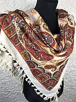 Женский платок с народным рисунком №197(2)