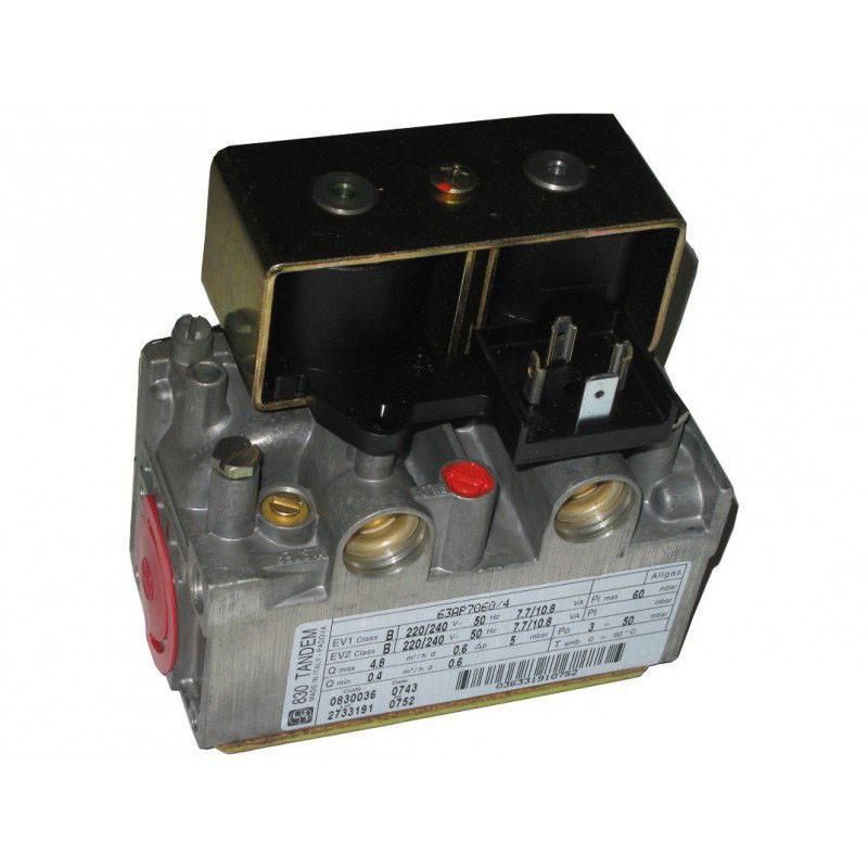 Газовый клапан 830 TANDEM для котлов до 40 кВт