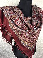 Женский платок с народным рисунком №197 (3)