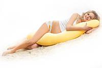 Подушка для беременных NOTA Exclusive, Наволочка (на выбор) входит в комплект