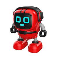 Инерционная игрушка микроробот, машинка, волчок JJRC R7 DouDou Inertia Gyro красный (JJКС-R7R)