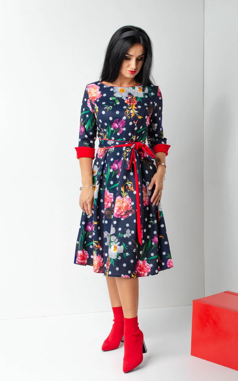 """Миле осіннє сукня """"238""""Розміри 44,46,48,50,52,54."""