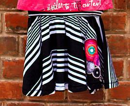 Детские юбки для девочки Desigual Испания 40F3055 Черный 128, 100 % хлопок