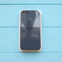 Накладка оригинальная Apple Silicone Case для iPhone 5, 5S Midnight Blue