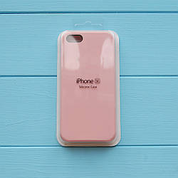 Накладка оригинальная Apple Silicone Case для iPhone 5, 5S Pink