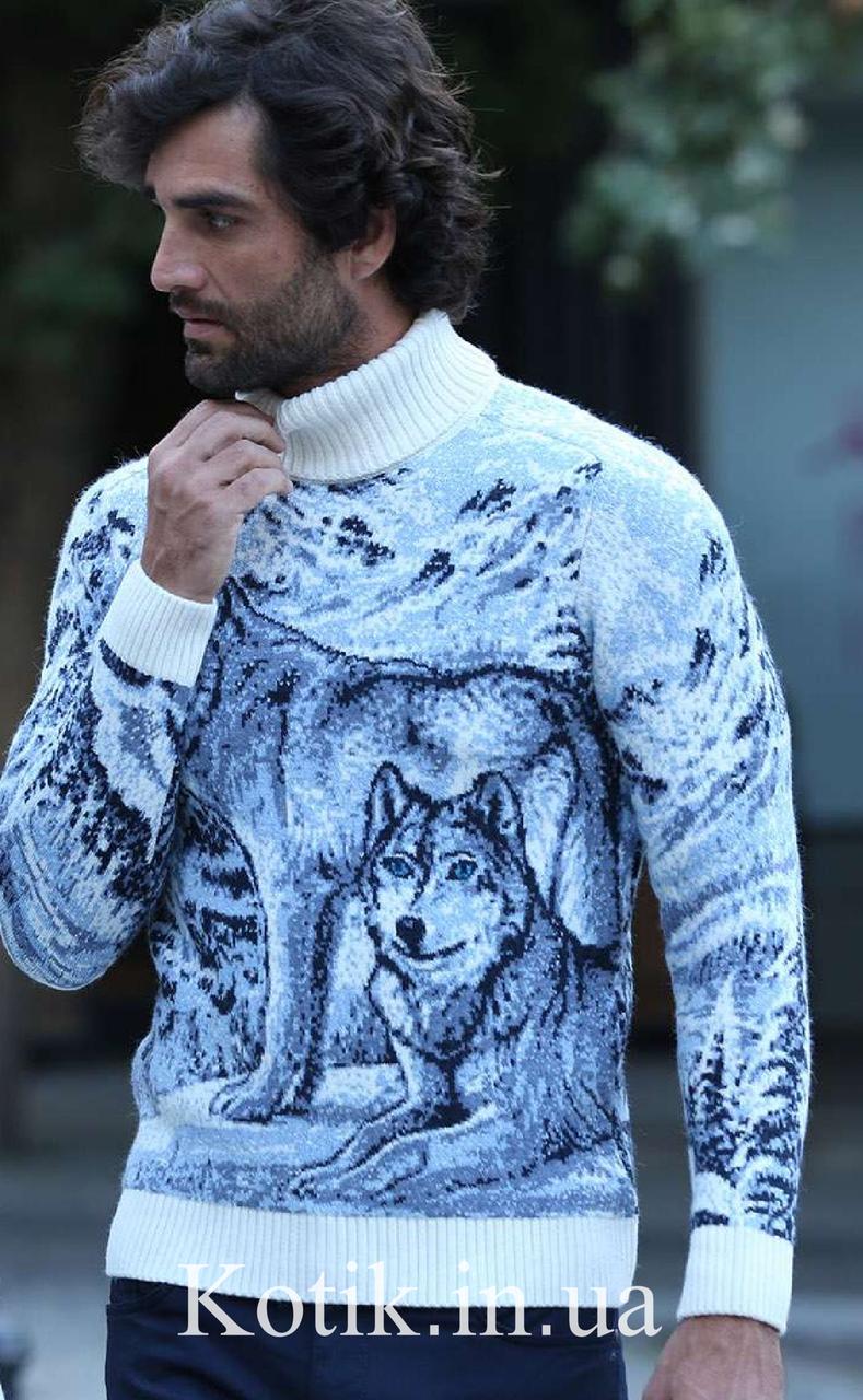 Свитер мужской Pulltonic Wolves