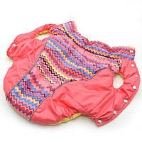 Жилет для собак Орнамент розовый йорк1 28х40 см
