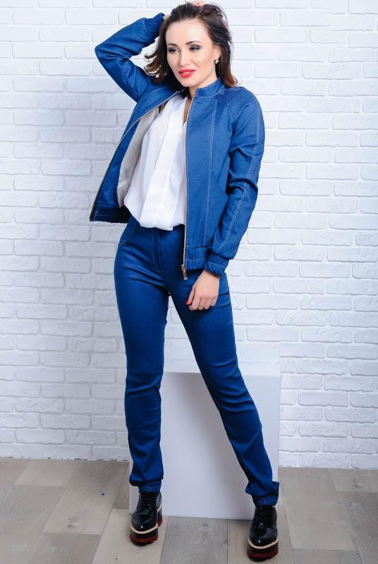 Женский джинсовый костюм Жардин