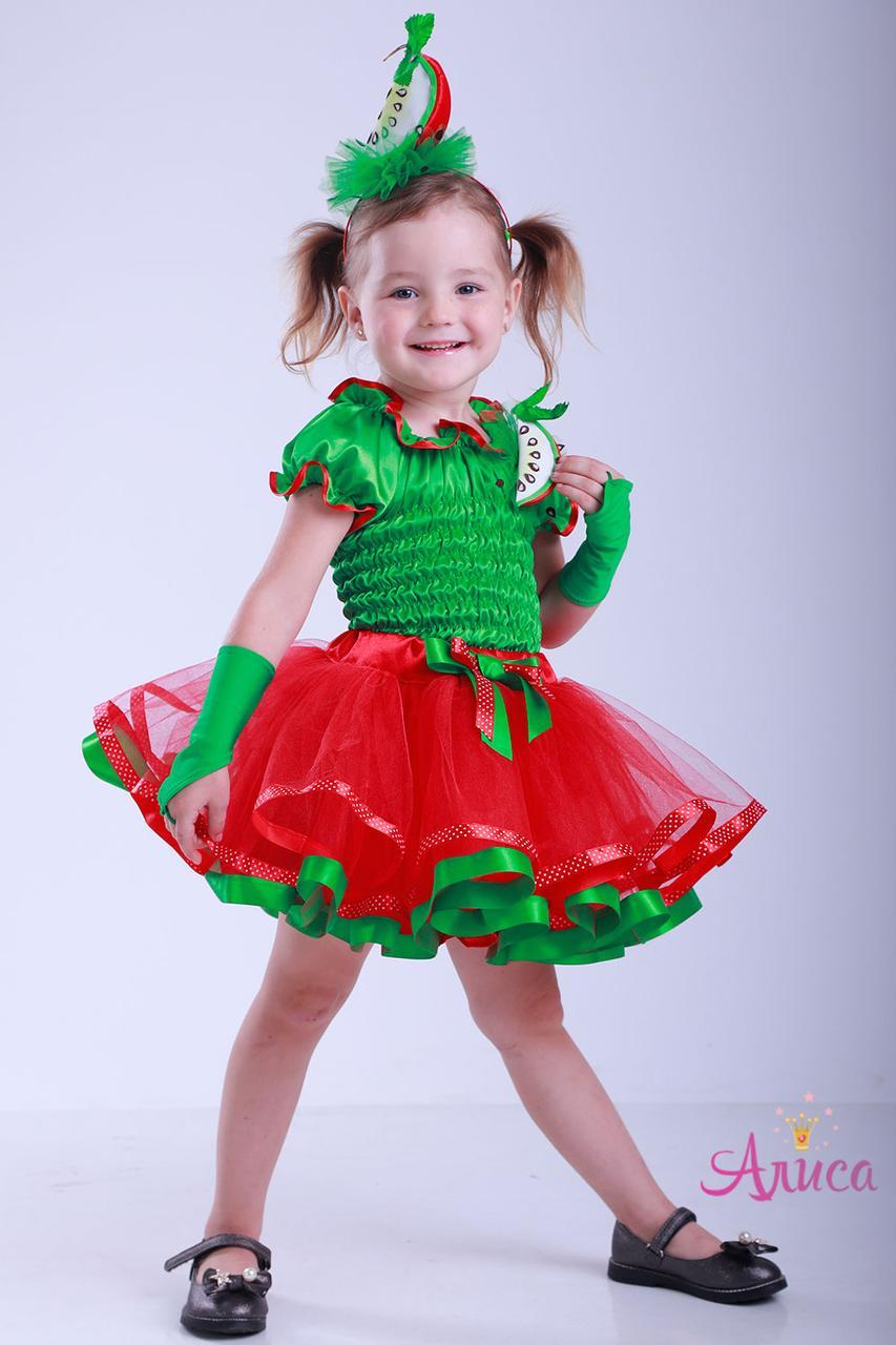 Карнавальный костюм Яблоко для девочки