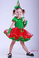 Карнавальный костюм Яблоко для девочки, фото 1