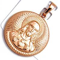 Иконка Xuping Иисус Христос РО длина 3.5см л203