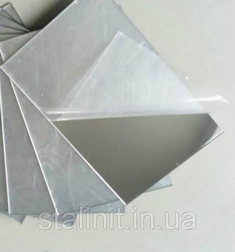 Ударопрочный полистирол HIPS s=1 mm 1000х2000, зеркальное серебро