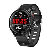 Смарт Часы LIZER PRO L5 черно-серый спортивный фитнес браслет