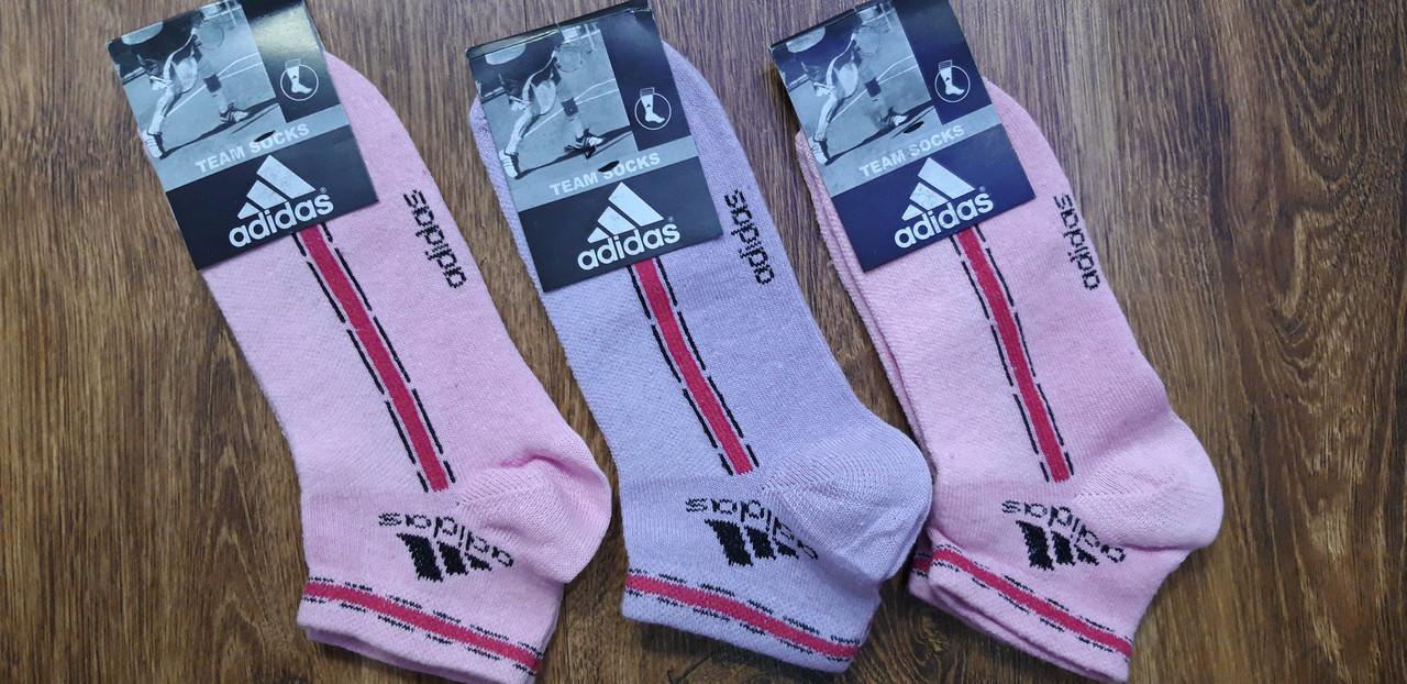 """Женские стрейч.носки(сетка) в стиле""""Adidas Team socks"""" 35-41"""