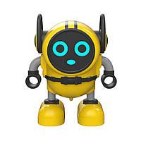 Инерционная игрушка микроробот, машинка, волчок JJRC R7 DouDou Inertia Gyro жёлтый (JJКС-R7Y)