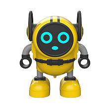 Інерційна іграшка мікроробот, машинка, вовчок JJRC R7 DouDou Inertia Gyro жовтий (ЈЈКС-R7Y)