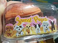 Мягкая игрушка-сюрприз вывернушки Sweet Pups 12см 20019