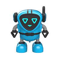 Инерционная игрушка микроробот, машинка, волчок JJRC R7 DouDou Inertia Gyro голубой (JJКС-R7B)