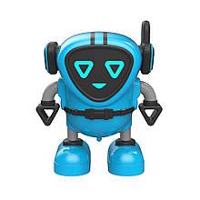 Інерційна іграшка мікроробот, машинка, вовчок JJRC R7 DouDou Inertia Gyro блакитний (ЈЈКС-R7B)