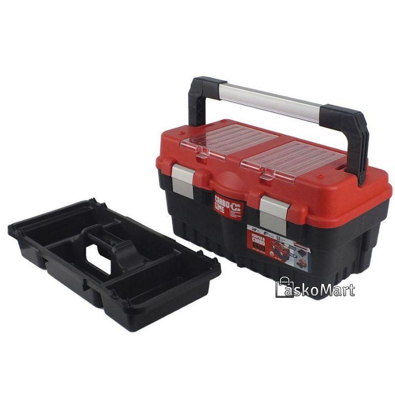 """Ящик для инструментов 18.5"""", 462x256x242 мм, Haisser Formula S500 Carbo 90020 (70841)"""