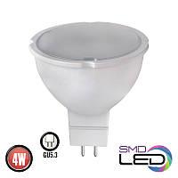 Светодиодная лампа 4W 4200K GU5.3 Horoz
