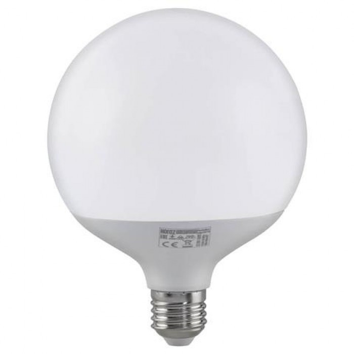 Led лампа Globe 20W E27 6400К Horoz Electric