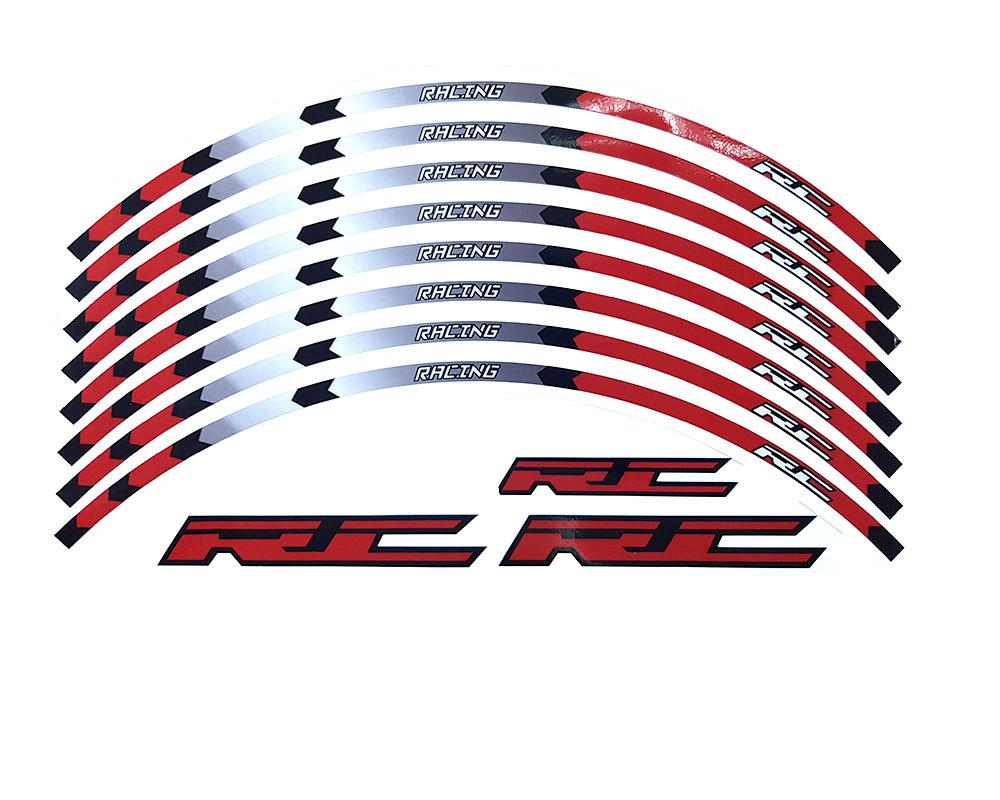 Наклейка на обід колеса RC Racing Red не відображають