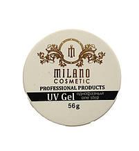 Гель для наращивания Milano однофазный (clear) 56g