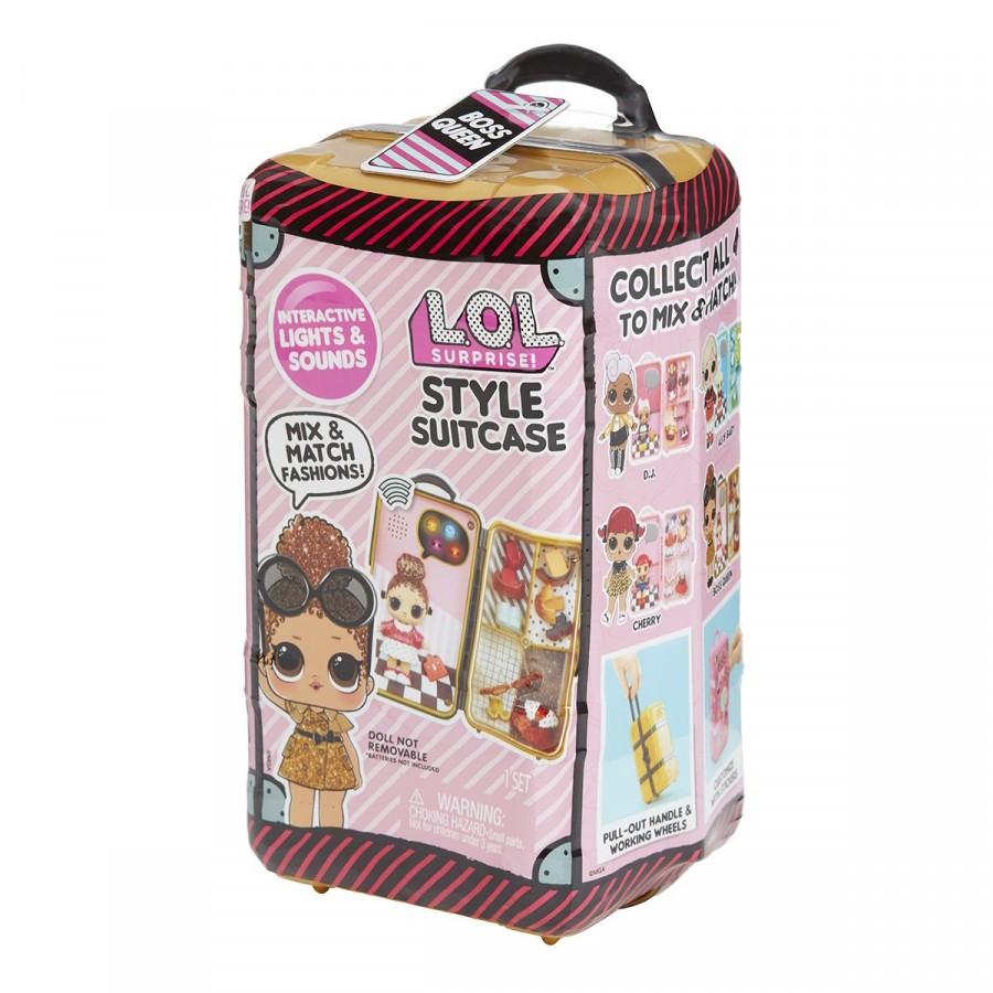 LOL Surprise - Школа Стиліста Леді-Бос 560418 (Игровой набор ЛОЛ сюрприз чемодан стилиста)