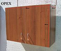 Шкаф навесной 80х60х30 с петлями (Орех), фото 1