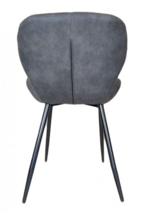 Стул Дайм, мягкий, ножки металл, цвет серый (3)